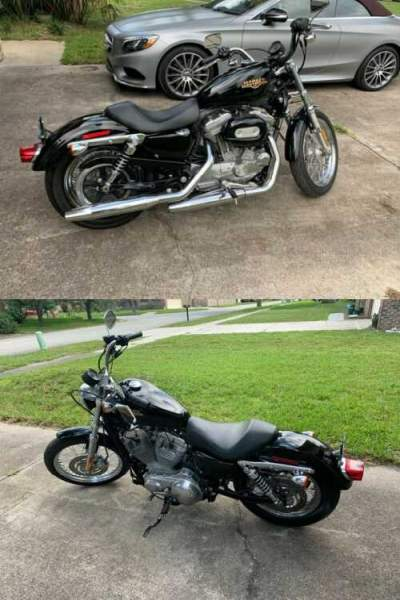 2010 Harley-Davidson Sportster Black for sale craigslist photo