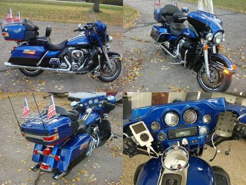 2010 Harley-Davidson Touring Electra Glide® Ultra Classic® Blue for sale