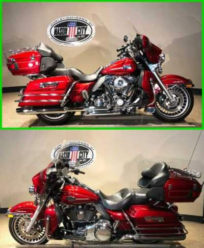 2010 Harley-Davidson Touring Electra Glide® Ultra Classic® Red Hot Sunglo for sale craigslist