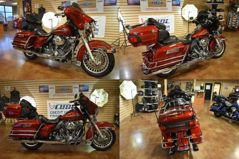 2010 Harley-Davidson Touring Red for sale craigslist photo