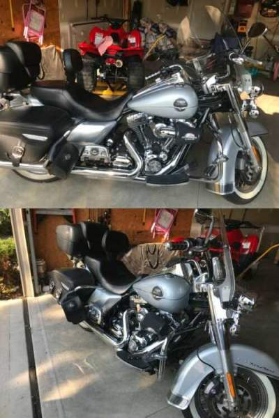 2010 Harley-Davidson Touring Silver for sale