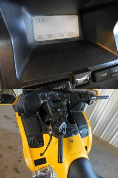2010 Honda GL1800 GOLDWING Yellow for sale