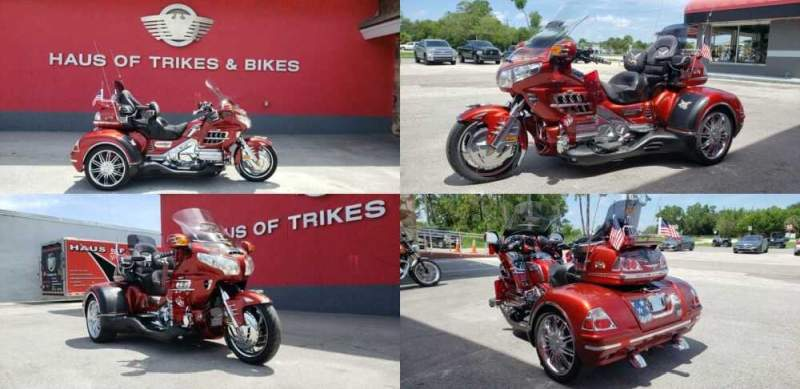 2010 Honda Gold Wing Red for sale craigslist photo