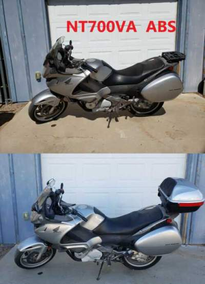 2010 Honda NT700 Silver for sale craigslist photo