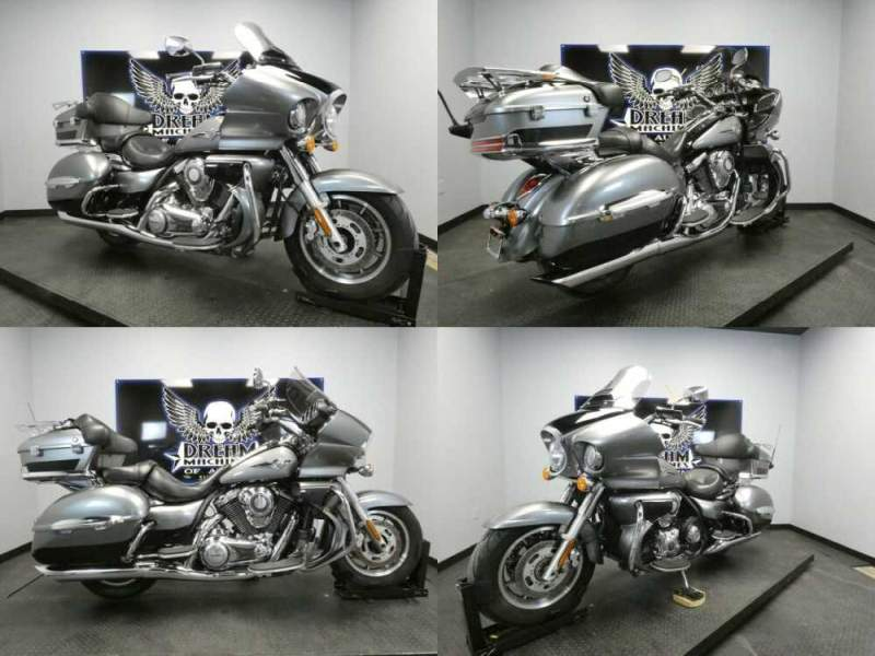 2010 Kawasaki Vulcan 1700 Voyager ABS Blue for sale
