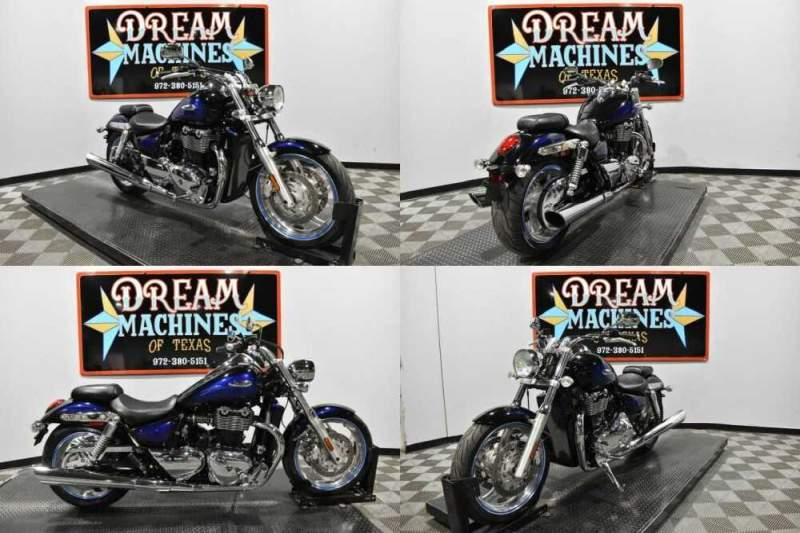 2010 Triumph Thunderbird Black for sale