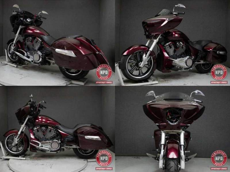 2010 Victory Cross Country Maroon for sale