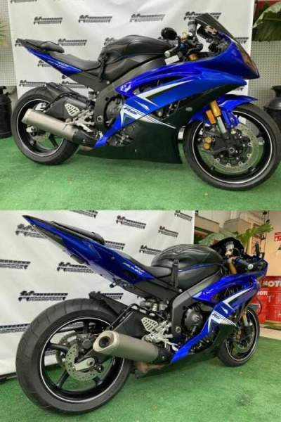 2010 Yamaha YZF-R Blue for sale craigslist photo