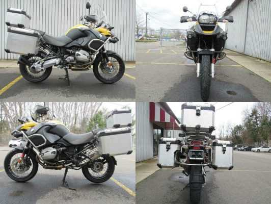 2011 BMW R1200GS ADVENTURE Yellow for sale craigslist