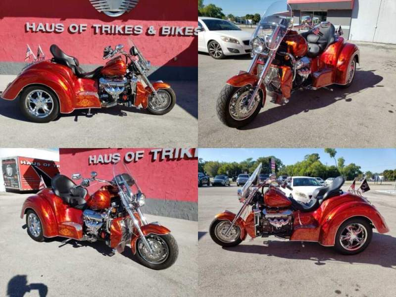 2011 Boss Hoss ZZ4 TRIKE Red for sale craigslist photo