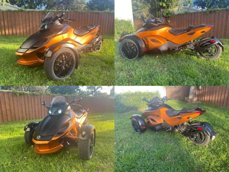 2011 Can-Am RS-S SM-5 Orange for sale craigslist photo