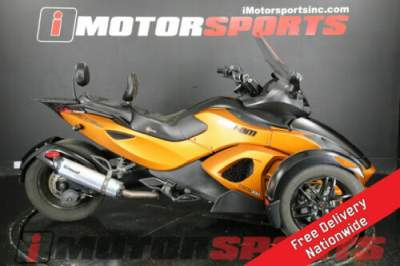 2011 Can-Am Spyder RS-S SM5 Orange for sale