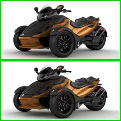 2011 Can-Am Spyder Roadster RS-S Black for sale