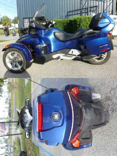 2011 Can-Am Spyder Blue for sale craigslist photo