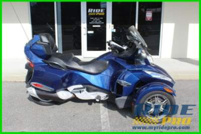 2011 Can-Am Spyder Roadster RT-S Blue for sale