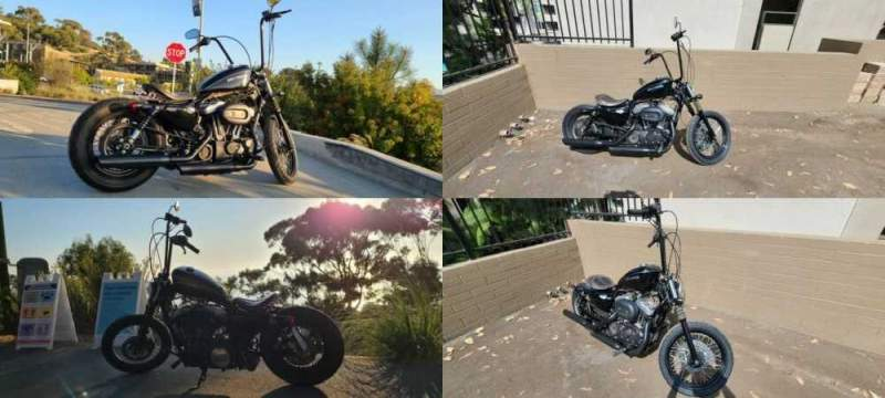 2011 Custom Built Motorcycles Bobber Black for sale craigslist photo