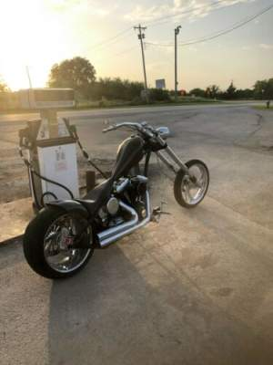 2011 Custom Built Motorcycles Chopper Black for sale craigslist photo