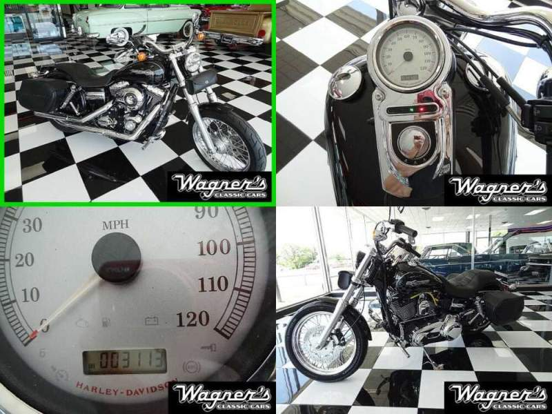 2011 Harley-Davidson Dyna Black for sale craigslist photo