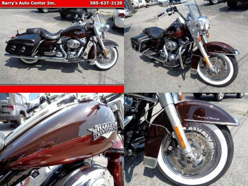 2011 Harley-Davidson FLHRC Road King Classic Brown for sale
