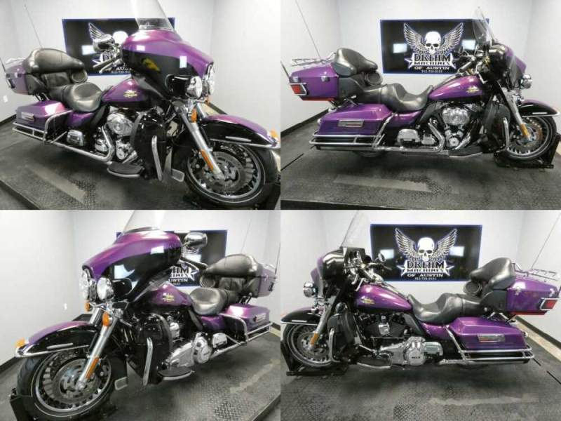 2011 Harley-Davidson FLHTK - Electra Glide Ultra Limited Purple for sale craigslist