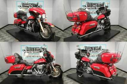 2011 Harley-Davidson FLHTK - Electra Glide Ultra Limited Red for sale craigslist photo