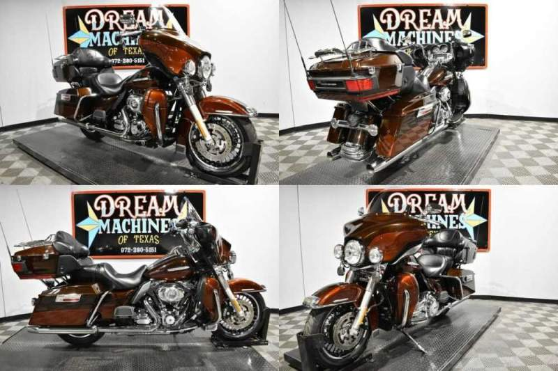 2011 Harley-Davidson FLHTK - Ultra Limited Dark Candy Root Beer And Light Candy Root Beer for sale