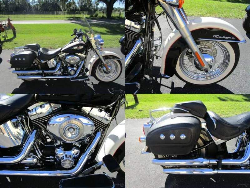 2011 Harley-Davidson Softail Softail® Deluxe Black for sale