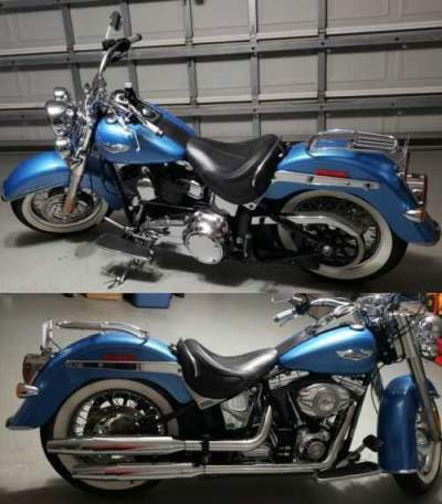 2011 Harley-Davidson Softail Blue for sale craigslist photo