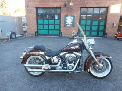 2011 Harley-Davidson Softail Brown for sale craigslist photo