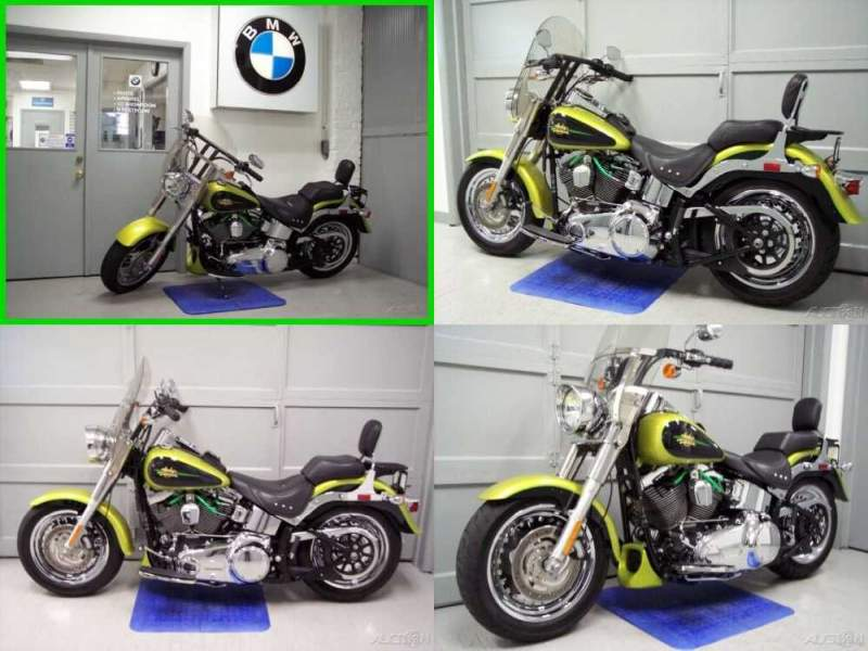 2011 Harley-Davidson Softail Fat Boy® Green for sale craigslist photo