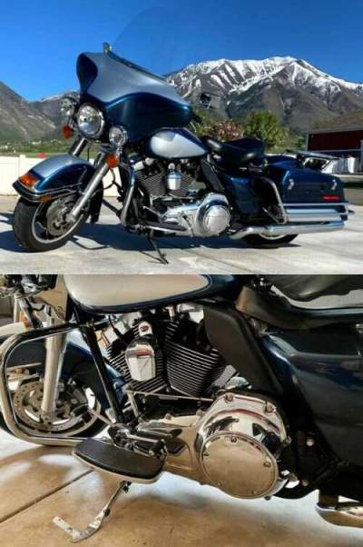2011 Harley-Davidson Touring Blue for sale craigslist photo