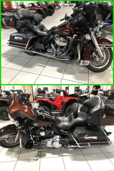 2011 Harley-Davidson Touring Brown for sale