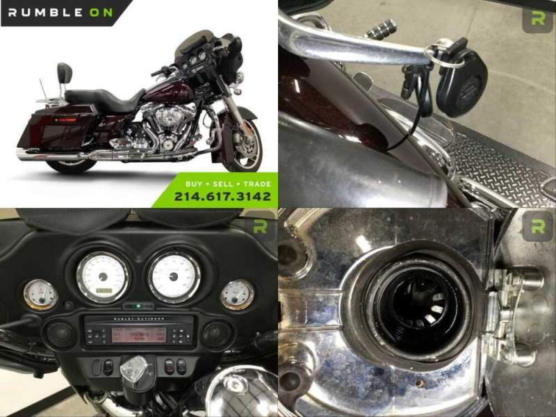 2011 Harley-Davidson Touring CALL (877) 8-RUMBLE Maroon for sale