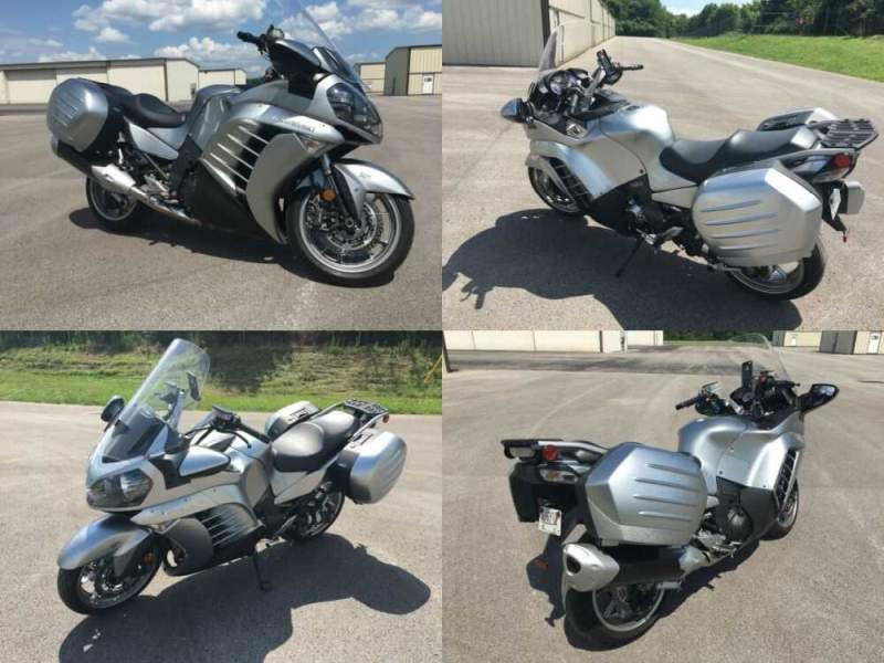 2011 Kawasaki Concours 14 ABS Silver for sale