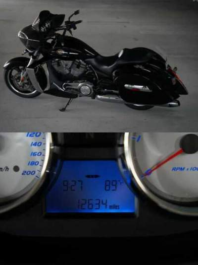 2011 Victory Cross Country Black for sale craigslist photo