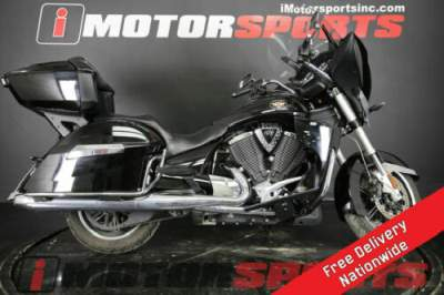 2011 Victory Cross Country Black for sale