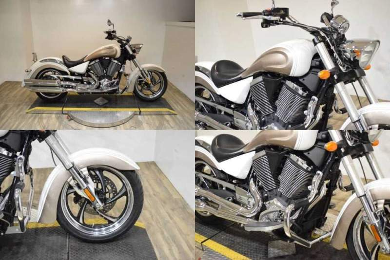2011 Victory Kingpin® White for sale craigslist photo