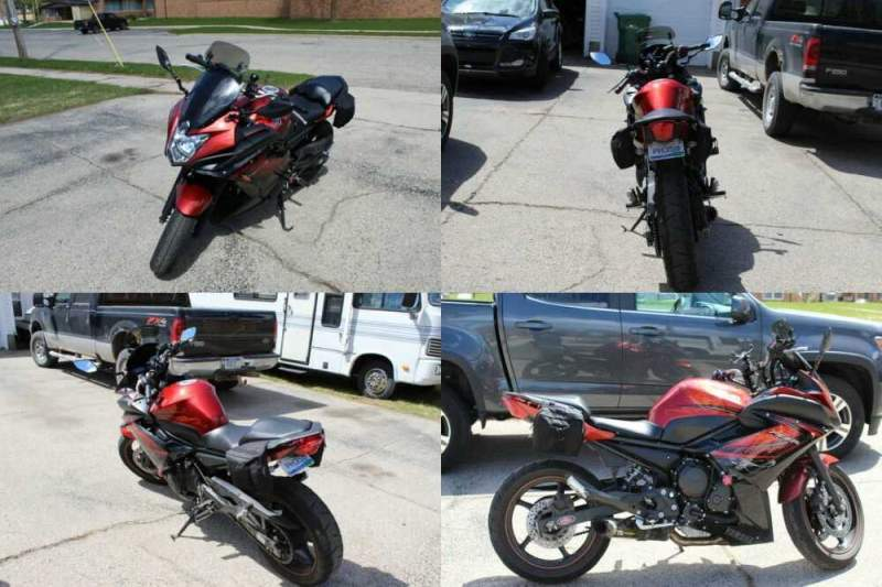 2011 Yamaha FZ6R Red for sale craigslist