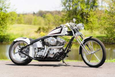 2012 American Classic Motors Chopper White/Black for sale craigslist photo