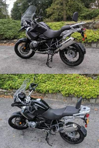 2012 BMW BMW R1200GS Triple Black Black for sale craigslist
