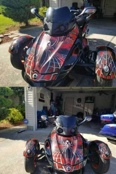 2012 Can-Am Rss Black for sale
