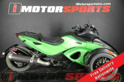 2012 Can-Am Spyder RS-S SM5 Green for sale craigslist photo