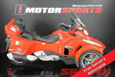 2012 Can-Am Spyder Roadster RT Red for sale craigslist photo