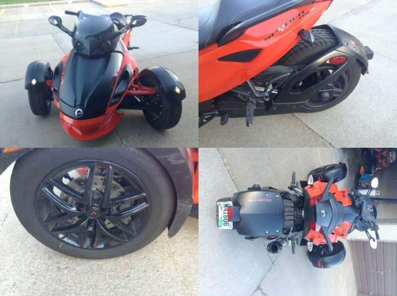 2012 Can-Am rss Orange for sale