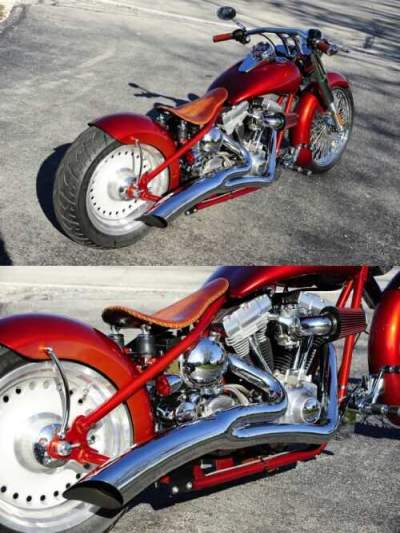 2012 Custom Built Motorcycles Pro Street Red for sale craigslist photo