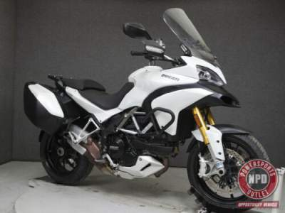 2012 Ducati Multistrada S1200S MULTISTRADA 1200 S TOURING WABS White for sale