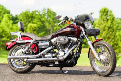 2012 Harley-Davidson Dyna Mysterious Red Sunglo / Velocity Red Sunglo for sale craigslist photo