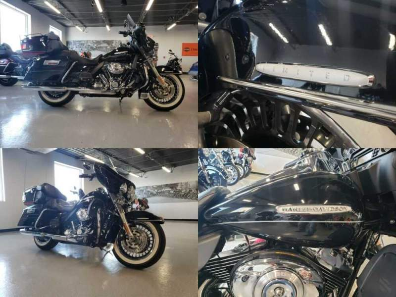 2012 Harley-Davidson Electra Glide® Ultra Limited Black for sale craigslist photo