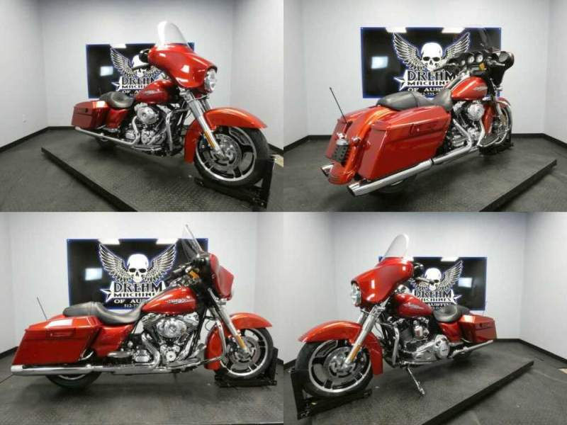 2012 Harley-Davidson FLHX - Street Glide Red for sale craigslist
