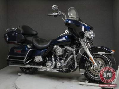 2012 Harley-Davidson Touring FLHTK ELECTRA GLIDE ULTRA LIMITED WABS BIG BLUE PEARL/VIVID BLACK for sale craigslist